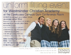 Uniform Fitting Day With Dennis Uniforms | Westminster